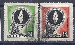 180030904  URUGUAY YVERT  AEREO  Nº   166/7 - Uruguay