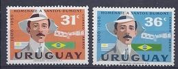 180030905  URUGUAY YVERT  AEREO  Nº   178/9  */MH - Uruguay