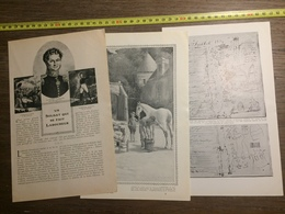 1909 DOCUMENT UN SOLDAT QUI SE FAIT LABOUREUR GENERAL CAMBRONNE - Old Paper