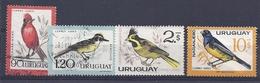 180030907  URUGUAY YVERT  AEREO  Nº   236/237/239/242  **/MNH - Uruguay