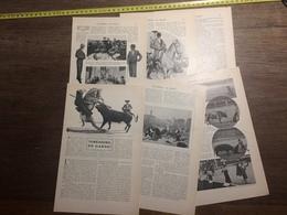 1909 DOCUMENT TOREADORS EN GARDE ANTONIO FUENTES MAZZANTINI CORRIDA - Vieux Papiers
