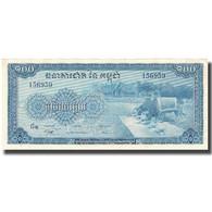Billet, Cambodge, 100 Riels, Undated (1956-72), KM:13b, SPL+ - Cambodge