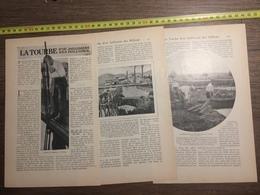 1909 DOCUMENT TOURBE D OU JAILLISSENT DES MILLIONS TOURBIERE - Old Paper