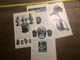1909 DOCUMENT TOUT EST BON POUR FAIRE UN CHEF D OEUVRE SCULPTEUR SUR MARRONS LIONEL LE COUTEUX - Old Paper