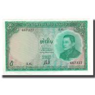 Billet, Lao, 5 Kip, Undated (1962), KM:9b, SUP+ - Laos