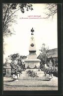 CPA Saint-Nicolas, Le Monument Commémoratif De La Guerre - France