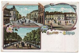 ROMANIA/ROUMANIE - SALUTARI  DIN BERLAD/BARLAD - OLD COLOUR LITHO - Romania