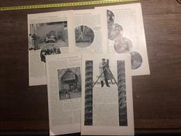 1909 DOCUMENT LES TRUCS DU CINEMATOGRAPHE - Vieux Papiers