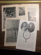1909 DOCUMENT UNE VICTOIRE IL Y A 100 ANS WAGRAM 9 JUILLET 1809 - Vieux Papiers