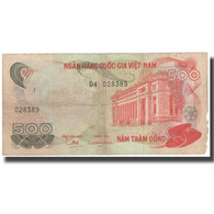 Billet, South Viet Nam, 500 D<ox>ng, KM:28a, TB+ - Viêt-Nam
