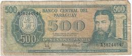 Paraguay 500 Guaranies 1982 Pick 206a Ref 2 - Paraguay