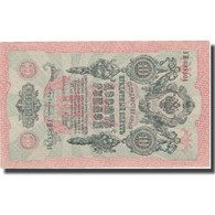 Billet, Russie, 10 Rubles, 1909, 1909, KM:11c, SUP - Russie
