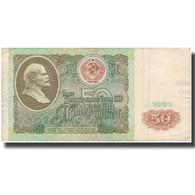 Billet, Russie, 50 Rubles, 1991, 1991, KM:241a, TTB - Russie