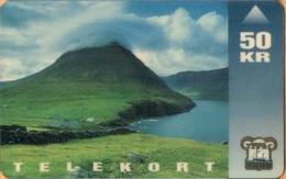Faroe Isl. - FO-FOT-0002, Viðareiði, Landscapes, 50 Kr, 15,000ex, 3/93, Used - Faroe Islands
