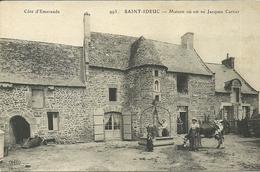 SAINT IDEUC  -- Maison Où Est Né Jacques Cartier                  -- ELD 993 - France