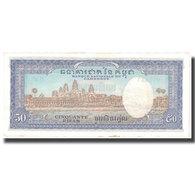 Billet, Cambodge, 50 Riels, Undated (1953), KM:7a, TTB+ - Indochine