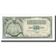 Billet, Yougoslavie, 500 Dinara, 1986, 1986-05-16, KM:91c, SUP - Yugoslavia