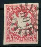 WAPPEN-AUSGABE 1867-1868 Nr 15 GMR 601 Zentrisch Gestempelt X884232 - Bayern