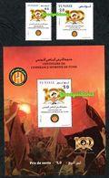 2019- Tunisia- Centenary Of L'espérance Sportive De Tunis- Football- Soccer- Block+Complete Set 2v.MNH** - Tunisia