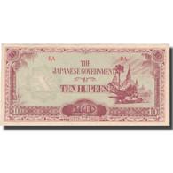 Billet, Birmanie, 10 Rupees, KM:16b, TTB+ - Philippines