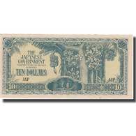 Billet, MALAYA, 10 Dollars, KM:M7c, TTB+ - Philippines