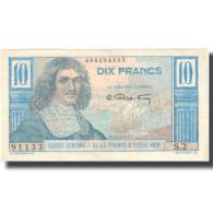Billet, Afrique-Équatoriale Française, 10 Francs, KM:21, TTB+ - Papeete (French Polynesia 1914-1985)