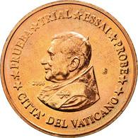 Vatican, Médaille, 2 C, Essai-Trial Benoit XVI, 2006, FDC, Cuivre - Jetons & Médailles