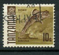 Tanzania 1973 10c Mud Skipper Issue #36 - Tanzania (1964-...)