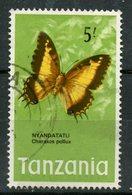 Tanzania 1973 5sh Butterfly Issue #47 - Tanzania (1964-...)