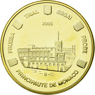 Monaco, Médaille, Essai 20 Cents, 2005, FDC, Bi-Metallic - Jetons & Médailles