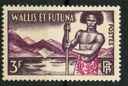 Wallis And Futuna Islands 1957 3f Islander Issue #150   MNH - Wallis And Futuna