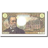 France, 5 Francs, 5 F 1966-1970 ''Pasteur'', 1969, 1969-09-04, SPL+ - 5 F 1966-1970 ''Pasteur''