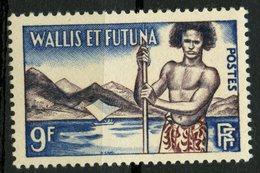Wallis And Futuna Islands 1957 9f Islander Issue #151   MNH - Wallis And Futuna