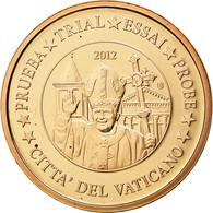 Vatican, Médaille, 5 C, Essai-Trial Benoit XVI, 2012, FDC, Cuivre - Jetons & Médailles