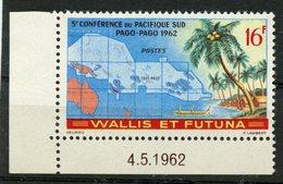 Wallis And Futuna Islands 1962 15f Pacific Confrence Issue #158   MH - Wallis And Futuna