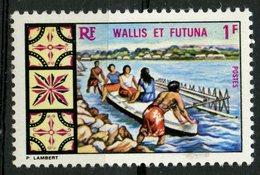 Wallis And Futuna Islands 1969 1f Canoe Issue #171   MH - Wallis And Futuna