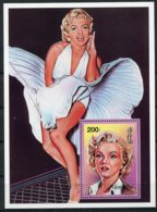 Mongolia, 1996, Marilyn Monroe, Actress, Cinema, Film, MNH Sheet, Michel Block 254 - Mongolie