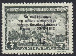 SERBIA OCCUPAZIONE TEDESCA - 1944 - Yvert 85 Obliterato; SECONDA SCELTA. - Serbia