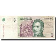 Billet, Argentine, 5 Pesos, Undated (1998-2003), KM:347, TTB - Argentine