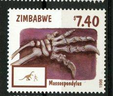 Zimbabwe 1998 $7.40 Massospondylus Issue #804  MNH - Zimbabwe (1980-...)