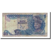 Billet, Malaysie, 1 Ringgit, Undated (1989), KM:27b, TB - Malaysie