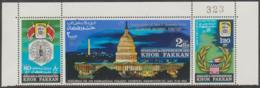 "SHARJAH, KHOR  FAKKAN - Overprinted In Silver ""Inauguration Of J. F. Kennedy"". MNH ** - Khor Fakkan"