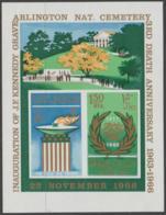 SHARJAH, KHOR  FAKKAN -J. F. Kennedy IMPERF Souvenir Sheet. MNH ** - Khor Fakkan