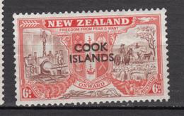 ##22, Cook Islands, Surimpression, Overprint, Métallurgie, Minéraux, Minerals, Berger, Shepherd, Mouton, Lamb, Cheval, - Cook