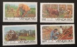 VENDA - MNH** - 1986 - # 153/156 - Venda