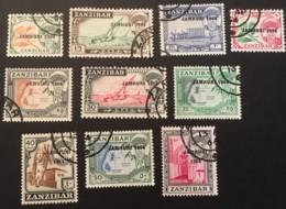ZANZIBAR - (0) -1964 - # 285/295 - Zanzibar (1963-1968)