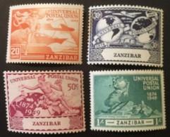ZANZIBAR - MNH** -1949 - # 226/229 - Zanzibar (1963-1968)