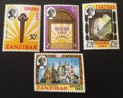 ZANZIBAR - MNH** -1963 - # 281/284 - Zanzibar (1963-1968)