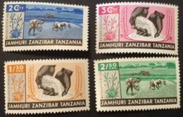 ZANZIBAR - MH* -1965 - # 323/326 - Zanzibar (1963-1968)