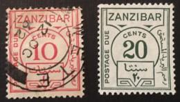ZANZIBAR - MU -1936 - # J19/20 - Zanzibar (1963-1968)